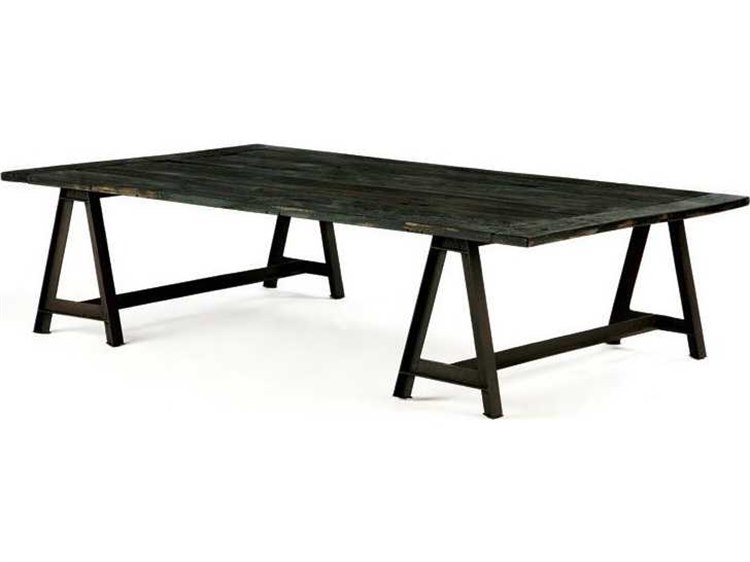 Brownstone Furniture Billings 52''l X 32''w Rectangular Charcoal Pertaining To Reclaimed Elm Iron Coffee Tables (View 37 of 40)