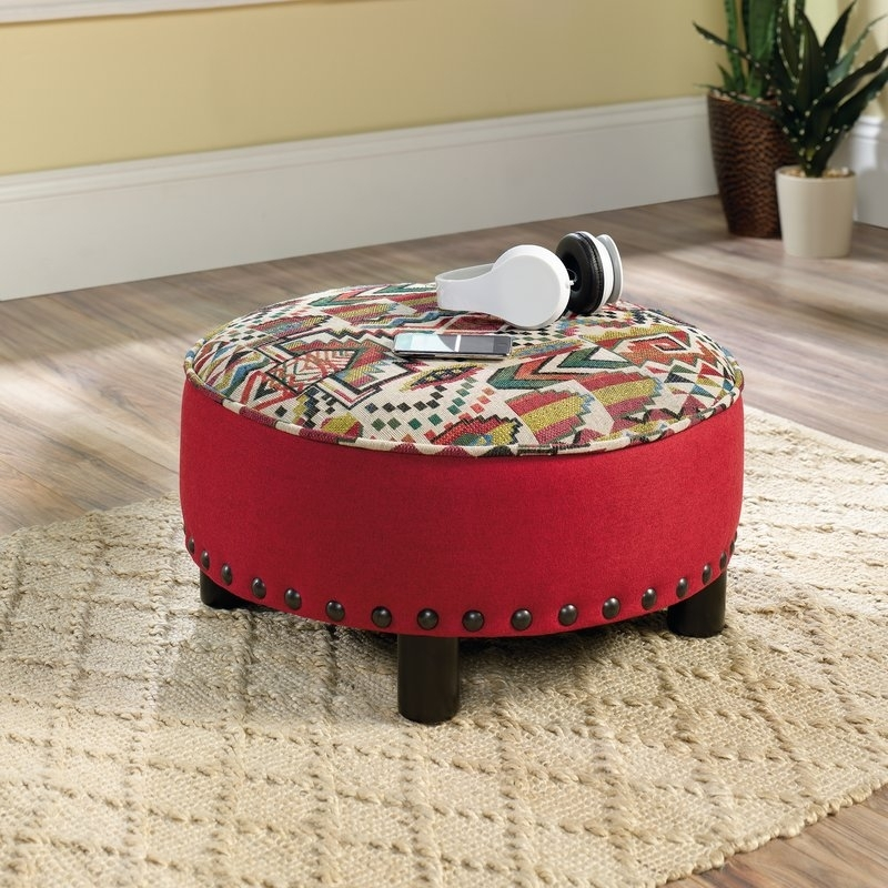 Bungalow Rose Ryker Cocktail Ottoman & Reviews | Wayfair Throughout Jaxon Cocktail Tables (Image 6 of 40)