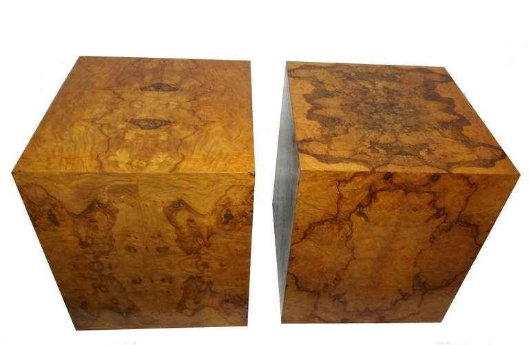 Burl Wood End Table | Goizuetabbarec Pertaining To Oslo Burl Wood Veneer Coffee Tables (Image 10 of 40)