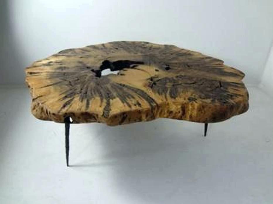 Burled Wood Coffee Table Wisteria Oslo Burl Wood Veneer Collection With Oslo Burl Wood Veneer Coffee Tables (Image 17 of 40)