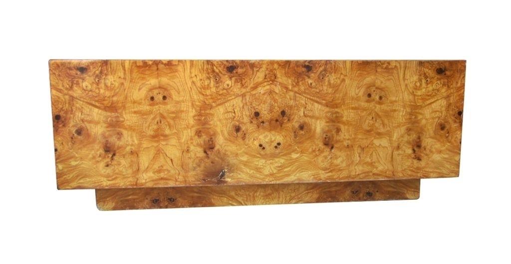 Burlwood Coffee Table With Regard To Oslo Burl Wood Veneer Coffee Tables (Image 18 of 40)