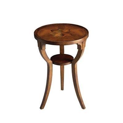 Butler Carissa Olive Ash Burl Round Pedestal Table 0533101 – $ (Image 10 of 40)