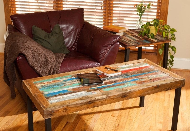 Buy A Hand Made Reclaimed Wood Coffee Table, Teak Coffee Table, Bali Regarding Live Edge Teak Coffee Tables (View 8 of 40)