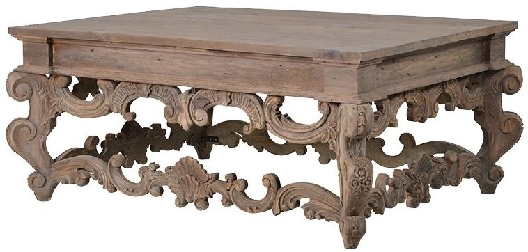 Buy Colonial Reclaimed Pine Coffee Table Online – Cfs Uk With Reclaimed Pine Coffee Tables (Image 6 of 40)