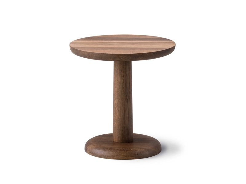Buy The Fredericia Pon Side Table Smoked Oak At Nest.co (Image 6 of 40)