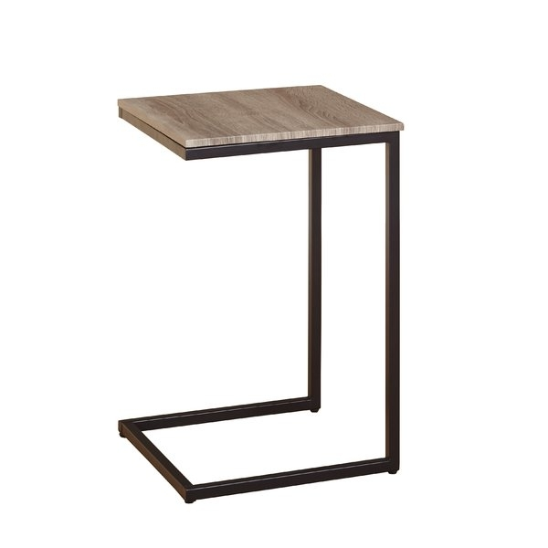 C Tables You'll Love | Wayfair For Aged Iron Cube Tables (Image 11 of 40)