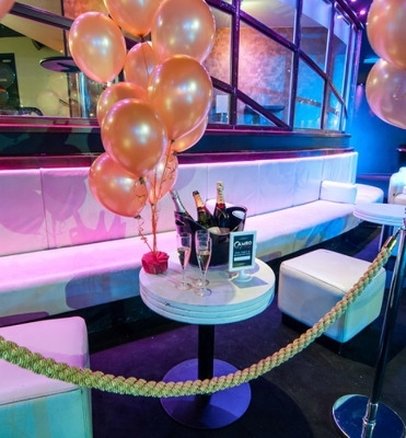 Cameo Vip Booth – Bournemouth – Red Cactus Events Intended For Cameo Cocktail Tables (View 11 of 34)
