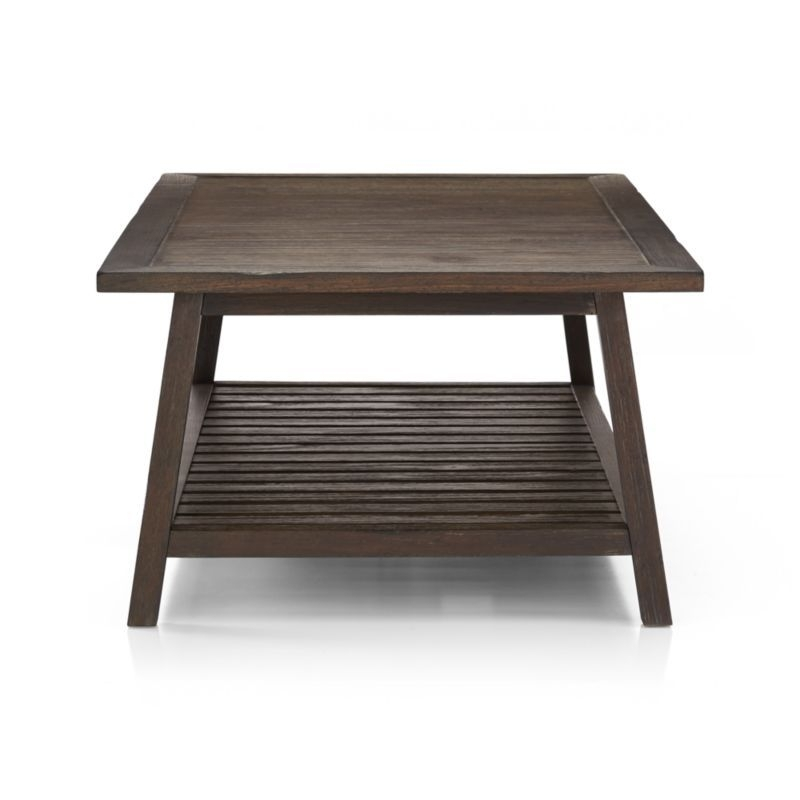 Campton Coffee Table | Crate And Barrel | Original Ecology Inside Moraga Barrel Coffee Tables (View 5 of 40)