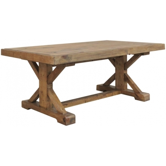 Camrose Reclaimed Pine Coffee Table In Reclaimed Pine Coffee Tables (Image 7 of 40)