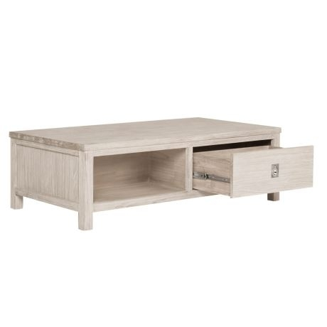 Cancun Coffee | Freedom Regarding White Wash 2 Drawer/1 Door Coffee Tables (View 4 of 40)