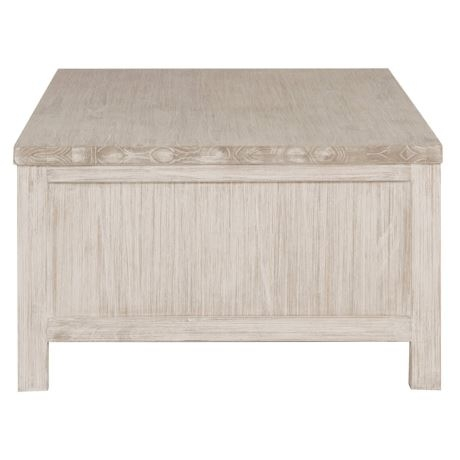 Cancun Coffee | Freedom With Regard To White Wash 2 Drawer/1 Door Coffee Tables (Image 10 of 40)