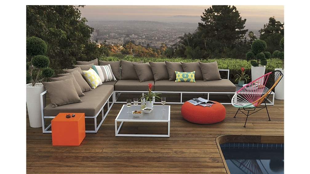 Casbah Outdoor Low Side Table + Reviews | Cb2 Throughout Casbah Coffee Side Tables (Image 19 of 40)