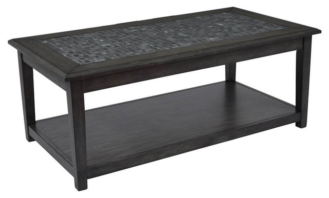 Castered Cocktail Table – Transitional – Coffee Tables Shopladder Pertaining To Cody Expandable Cocktail Tables (View 7 of 40)
