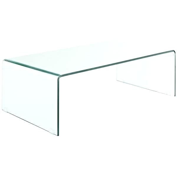 Cb2 Clear Coffee Table – Twomenandatruck (Image 14 of 40)