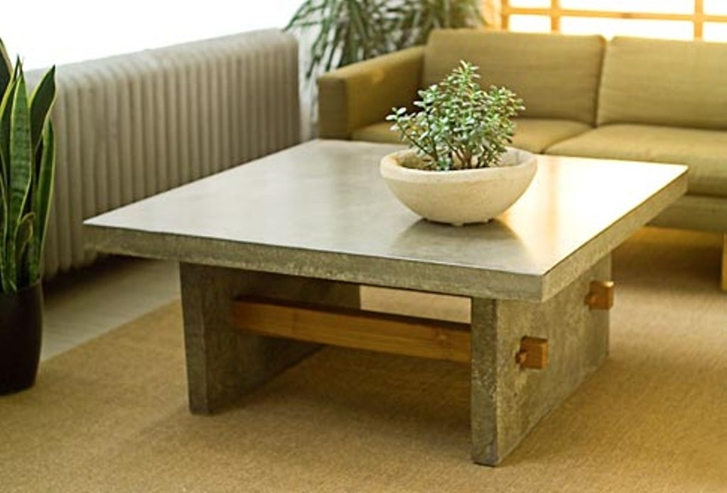 Cb2 Element Coffee Table : Cement Coffee Table Manufacturers In Element Coffee Tables (Image 2 of 40)