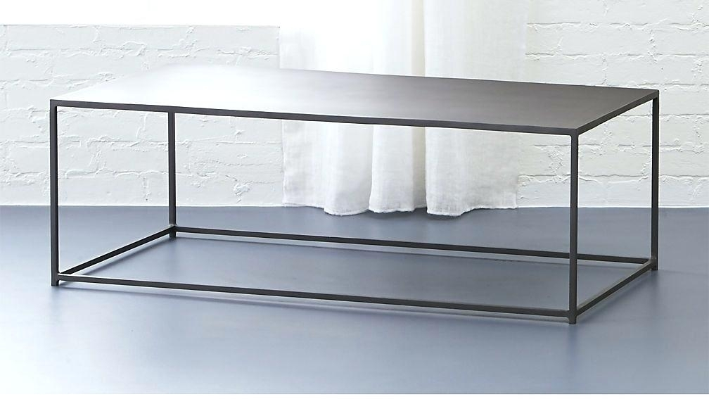 Cb2 Mill Coffee Table Enchanting Round Metal Coffee Tables With With Regard To Mill Coffee Tables (View 10 of 40)