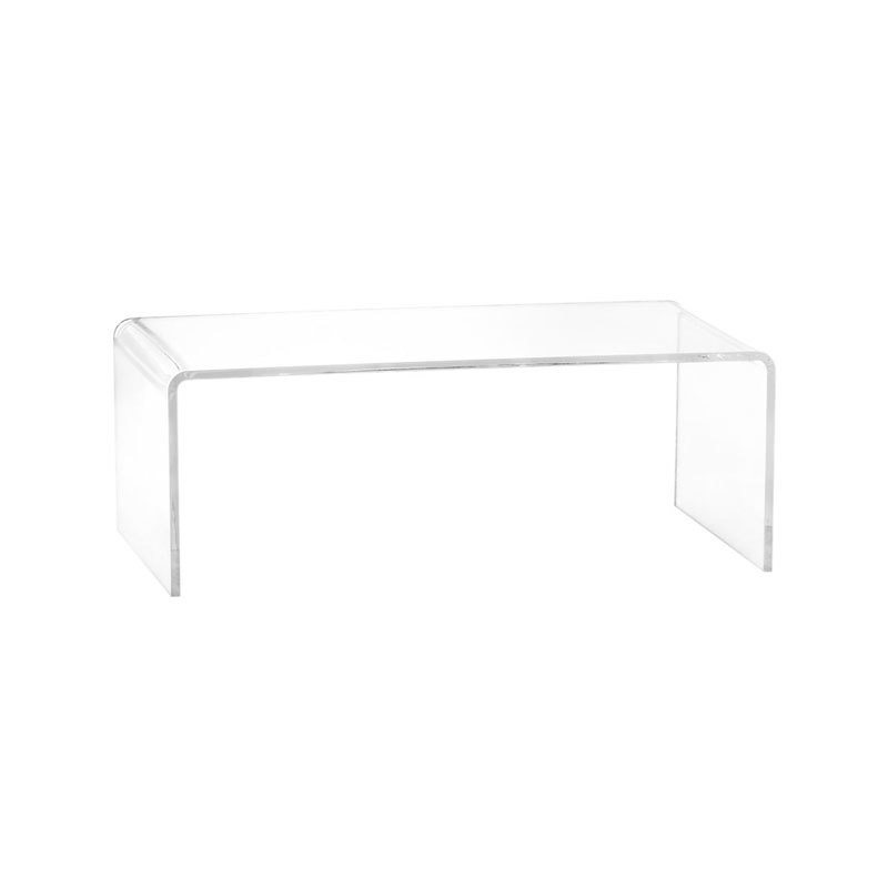 Cb2 Peekaboo Acrylic Coffee Tablecb2 – Dwell Throughout Peekaboo Acrylic Coffee Tables (Image 18 of 40)