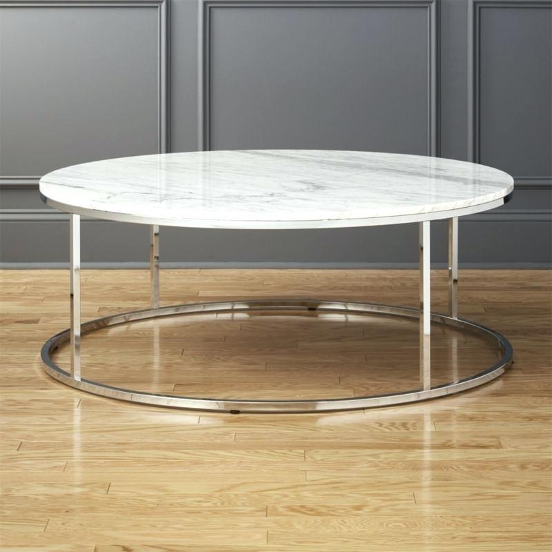 Cb2 Shroom Coffee Table – Viralstyle Pertaining To Slab Small Marble Coffee Tables With Antiqued Silver Base (Image 6 of 40)