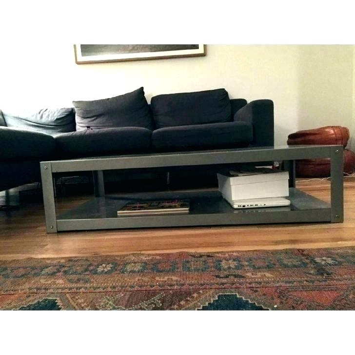 Cb2 Tv Console 4 Media Credenza Tables – Remind2 Regarding Go Cart White Rolling Coffee Tables (View 22 of 40)
