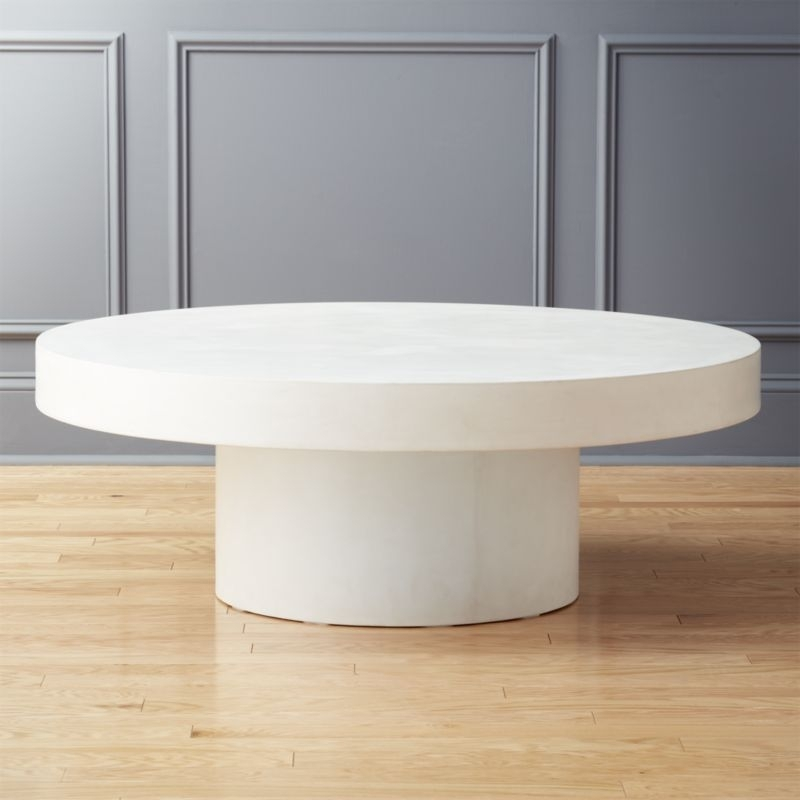 Cement Tables | Cb2 Inside Jelly Bean Coffee Tables (View 15 of 40)