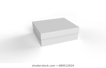 Chocolate White Paper Box Packaging Stick Stock Illustration In Corrugated White Wash Barbox Coffee Tables (View 7 of 40)