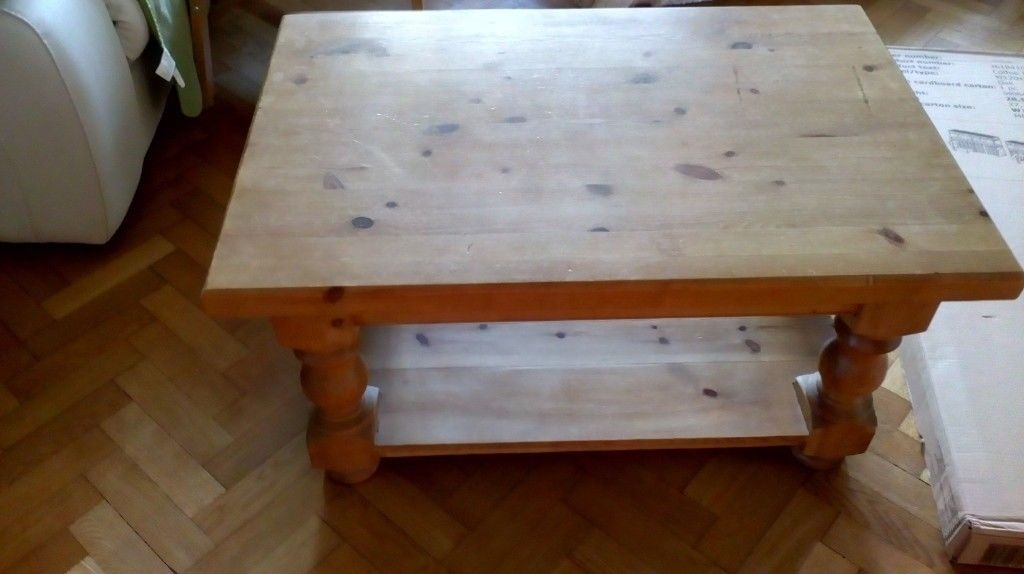 Chunky Antique Pine Coffee Table | In Stafford, Staffordshire | Gumtree With Regard To Antique Pine Coffee Tables (Image 23 of 40)