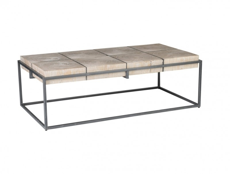 Classic Homes Cooper Coffee Table Solid Wood – Reside Furnishings For Iron Wood Coffee Tables With Wheels (View 9 of 40)
