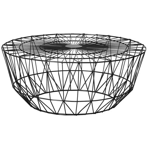 Club Wire Coffee Table | Temple & Webster Inside Black Wire Coffee Tables (Image 17 of 40)