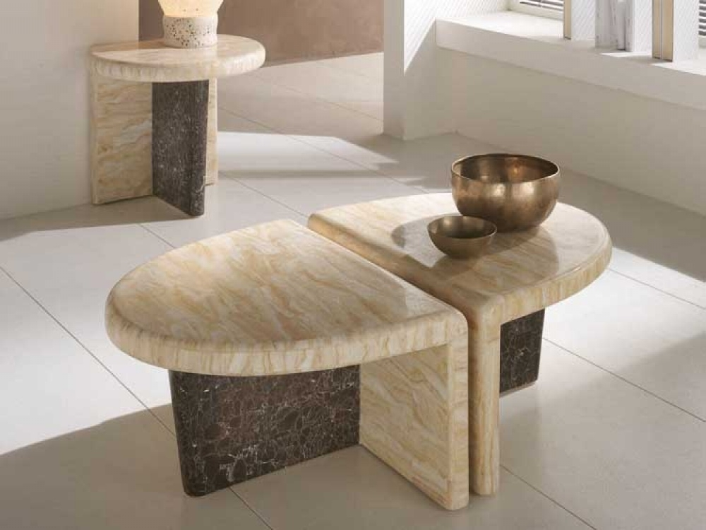 Coffee Chic Modern Coffee Table Diy Coffee Table Stone Coffee Table Within Stone Top Coffee Tables (Image 6 of 40)