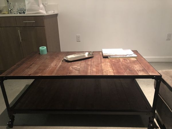Coffee/cocktail Table, Proton For Sale In Beverly Hills, Ca – Offerup For Proton Cocktail Tables (Image 12 of 40)