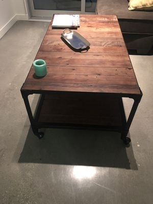 Coffee/cocktail Table, Proton For Sale In Beverly Hills, Ca – Offerup Pertaining To Proton Cocktail Tables (Image 13 of 40)