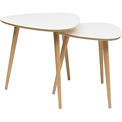 Coffee & Side Tables | Side Table | Glass Coffee Table Within White Wash 2 Drawer/1 Door Coffee Tables (Image 18 of 40)