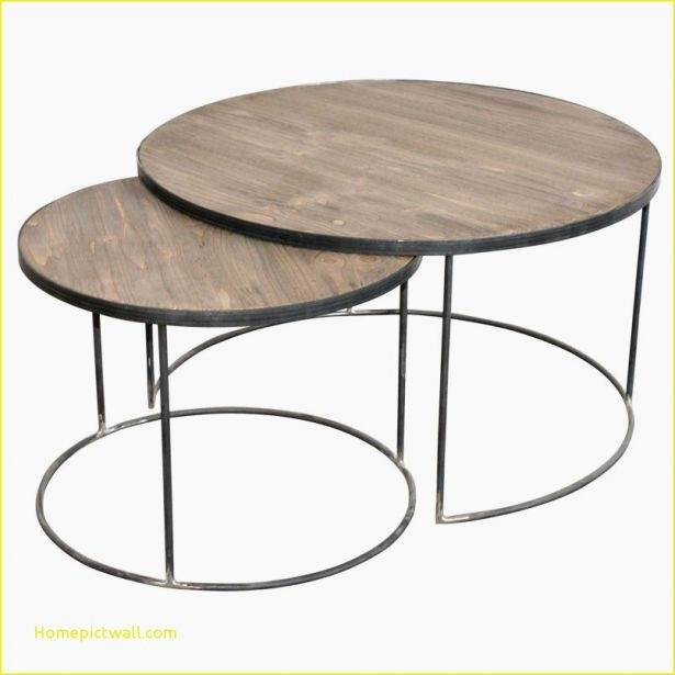 Coffee Table: 40 Best Of Round Coffee Table With Casters Ideas Round Intended For Ontario Cocktail Tables With Casters (Image 11 of 40)