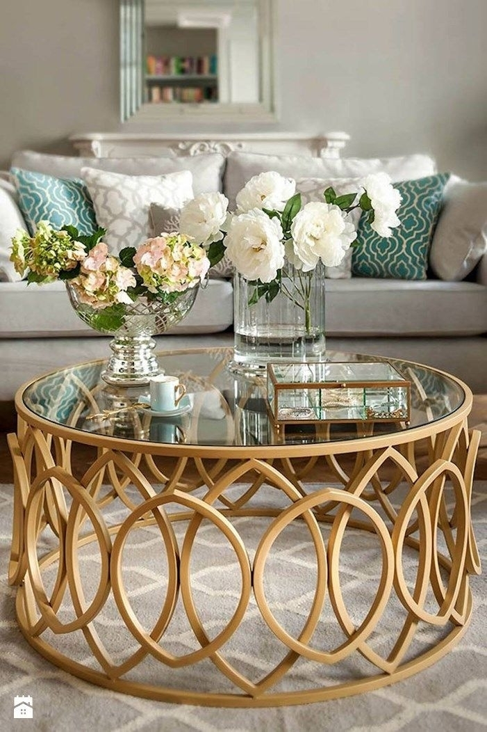 Coffee Table: 40 Lovely French Country Style Coffee Tables Sets Within Fresh Cut Side Tables (Image 8 of 40)