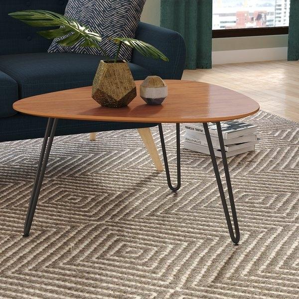 Coffee Table Black Legs | Wayfair.co (Image 4 of 40)