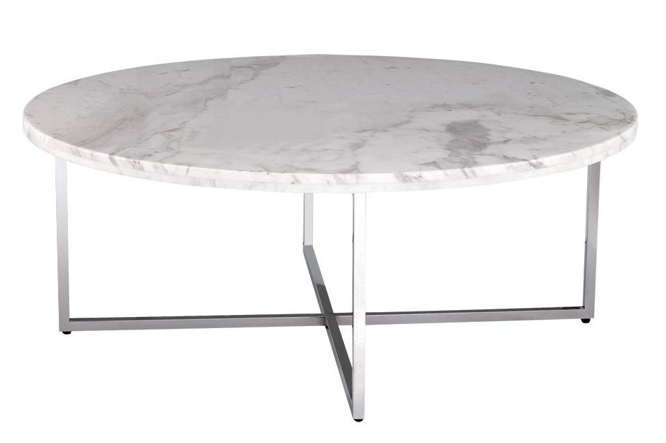 Coffee Table: Cool Ideas Solid Marble Coffee Table Round Marble In Smart Large Round Marble Top Coffee Tables (View 27 of 40)