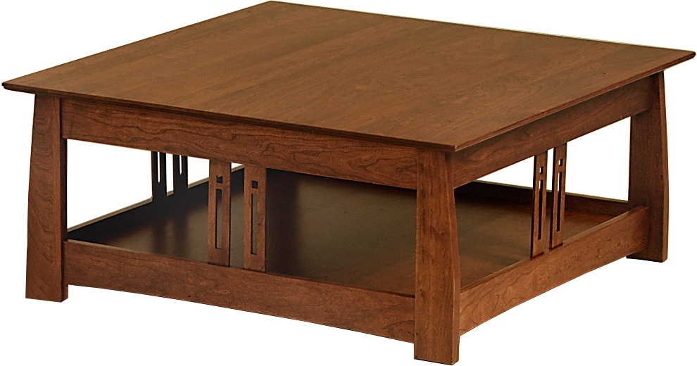 Coffee Table: Mission Style Coffee Tables Mission Style Coffee Table Throughout Craftsman Cocktail Tables (Image 7 of 40)