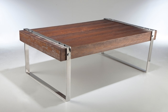 Coffee Table: Outstanding Industrial Coffee Tables Industrial Style For Mountainier Cocktail Tables (View 4 of 40)