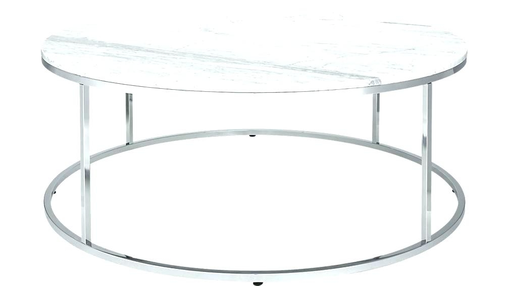 Coffee Table With Stools Marble Top C Smart Large Round Faux And Intended For Smart Large Round Marble Top Coffee Tables (View 5 of 40)