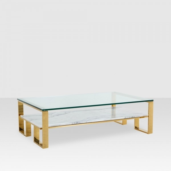 Coffee Tables – Elte Intended For Acrylic & Brushed Brass Coffee Tables (Image 17 of 40)