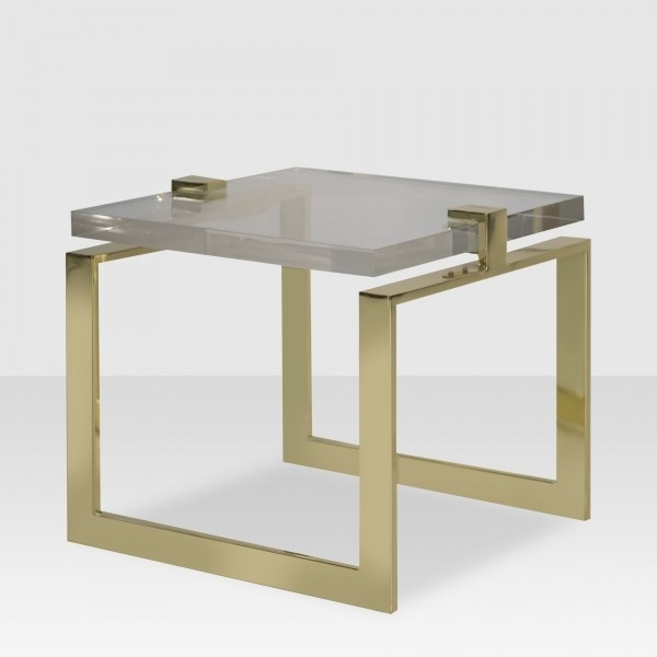 Coffee Tables – Elte Regarding Acrylic & Brushed Brass Coffee Tables (Image 18 of 40)