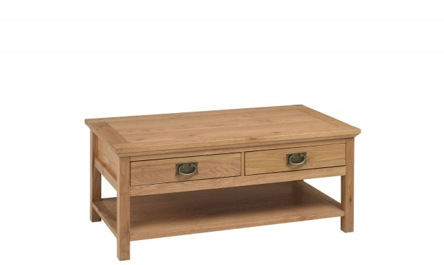 Coffee Tables For Sale – Fishpools Throughout Natural 2 Drawer Shutter Coffee Tables (Image 19 of 40)