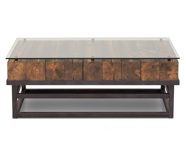 Coffee Tables, Furniture Tables Living Room | Furniture Row For Walnut Finish 6 Drawer Coffee Tables (Image 19 of 40)