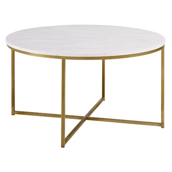Coffee Tables – Glass, Oak, Marble & More | Wayfair.co (Image 3 of 40)