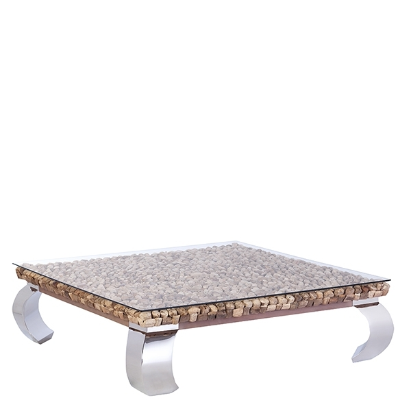 Coffee Tables | Glass, Wooden & Metal – Barker & Stonehouse With Round White Wash Brass Painted Coffee Tables (Image 11 of 40)
