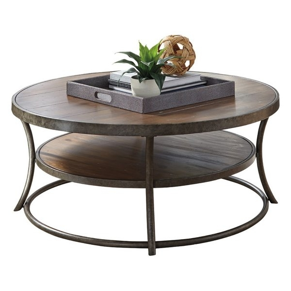 Coffee Tables | Joss & Main In Round White Wash Brass Painted Coffee Tables (View 10 of 40)