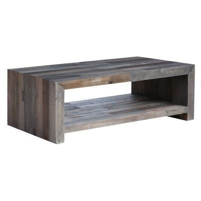Coffee Tables – Make A Statement With A Unique Coffee Table Pertaining To Recycled Pine Stone Side Tables (View 28 of 40)