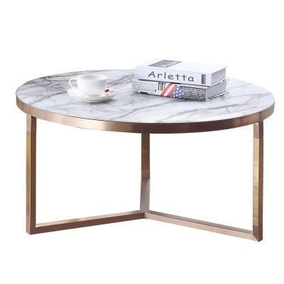 Coffee Tables – Make A Statement With A Unique Coffee Table Pertaining To Round White Wash Brass Painted Coffee Tables (View 19 of 40)