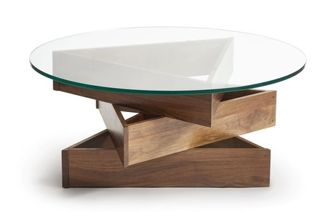 Coffee Tables – Modern Coffee Tables – 2Modern With Regard To Swell Round Coffee Tables (Image 2 of 40)