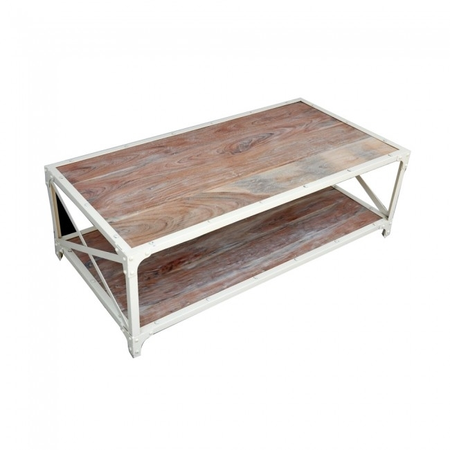 Coffee Tables – Tables – Furniture Throughout White Wash 2 Drawer/1 Door Coffee Tables (Image 21 of 40)